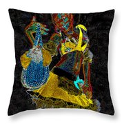 Night Beauty Throw Pillow
