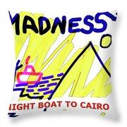 Night Boat To Cairo 1979 Throw Pillow