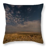 Night By Moonlight Throw Pillow