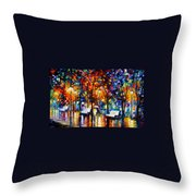 Night Copenhagen Throw Pillow