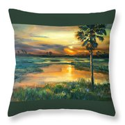 Night Descends Throw Pillow