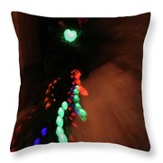 Night Diptych 1 Throw Pillow