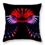 Night Eagle Throw Pillow