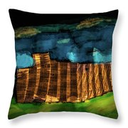 Night #g7 Throw Pillow