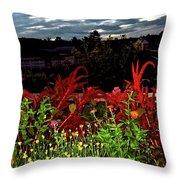 Night Garden Series 3 Throw Pillow
