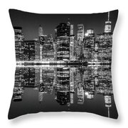Night Grooves Throw Pillow