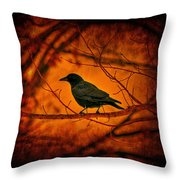 Night Guard Throw Pillow