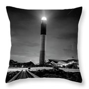 Night Guardian  Throw Pillow