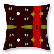 Night In Asia Throw Pillow