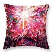 Night In Bethlehem Throw Pillow