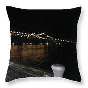 Night In New Orleans Throw Pillow