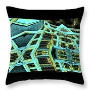 Night In This House Throw Pillow