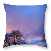 Night Is Coming Throw Pillow
