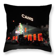 Night Life Throw Pillow