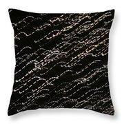 Night Lights 2 Throw Pillow