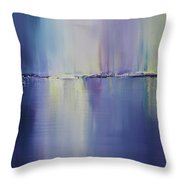 Night Lights Kinsale Throw Pillow
