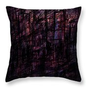 Night Lovers Throw Pillow