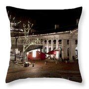 Night Market Throw Pillow