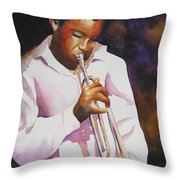 Night Music Throw Pillow