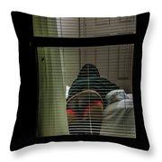 Night Neigobors Throw Pillow