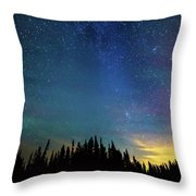 Night Of Enchantment Throw Pillow