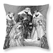 Night Of Hope Throw Pillow