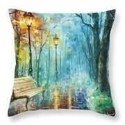 Night Of Inspiration Throw Pillow