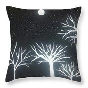 Night Of Lights Throw Pillow