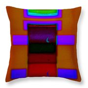 Night On The Nile Throw Pillow