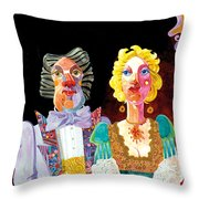 Night Out Throw Pillow