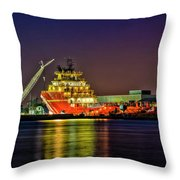 Night Overhaul Throw Pillow