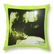 Night Search No. 14 H A Throw Pillow