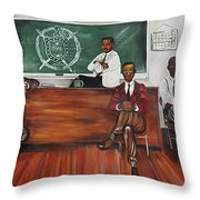 Night Session Throw Pillow