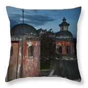 Night Skyline 1 Throw Pillow