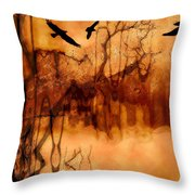 Night Stalkers Throw Pillow