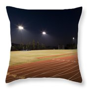 Night Training Throw Pillow