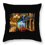 Night Transformation Throw Pillow