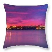 Night Unto Day Throw Pillow