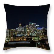 Night View  Throw Pillow