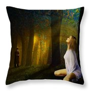 Night Vision Throw Pillow