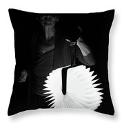 Night Visitor Throw Pillow