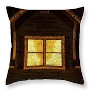 Night Window Throw Pillow