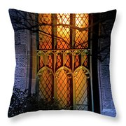 Night Worship Throw Pillow
