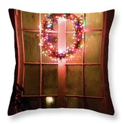 Night Wreath Throw Pillow