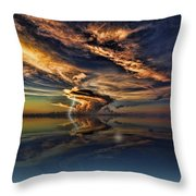 Nightcliff Pop Throw Pillow