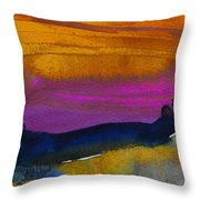 Nightfall 04 Throw Pillow