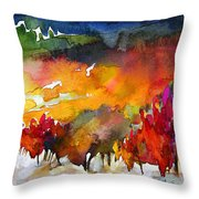 Nightfall 06 Throw Pillow