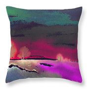 Nightfall 08 Throw Pillow