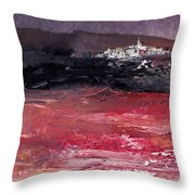 Nightfall 16 Throw Pillow