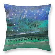 Nightfall 25 Throw Pillow